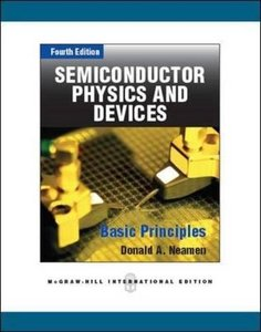 Semiconductor Physics and Devices: Basic Principles, 4/e (IE-Paperback)-cover
