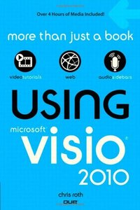 Using Microsoft Visio 2010 (Paperback)-cover
