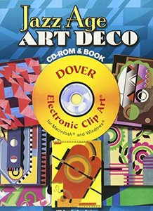 Jazz Age Art Deco CD-ROM and Book (Paperback)