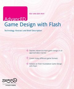 AdvancED Game Design with Flash (Paperback)-cover