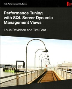 Performance Tuning with SQL Server Dynamic Management Views (Paperback)-cover
