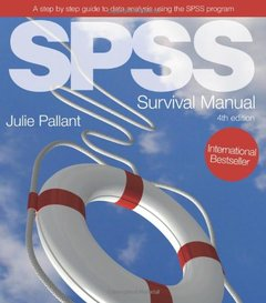 SPSS Survival Manual: A step by step guide to data analysis using SPSS, 4/e (Spiral-bound)-cover