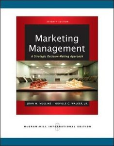Marketing Management: A Strategic Decision-Making Approach, 7/e (IE-Paperback)