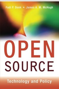 Open Source: Technology and Policy (Paperback)-cover