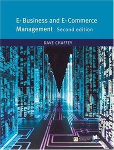 E-Business and E-Commerce, 2/e (Paperback)-cover