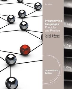 Programming Languages : Principles and Practices, 3/e (IE-Paperback)-cover