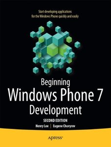 Beginning Windows Phone 7 Development, 2/e (Paperback)-cover