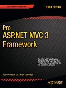 Pro ASP.NET MVC 3 Framework, 3/e (Paperback)-cover