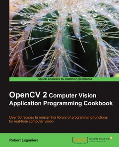 OpenCV 2 Computer Vision Application Programming Cookbook-cover