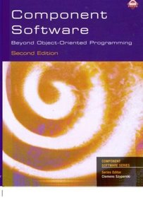 Component Software: Beyond Object-Oriented Programming, 2/e (Paperback)-cover