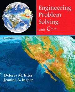 Engineering Problem Solving with C++, 2/e (Paperback)-cover