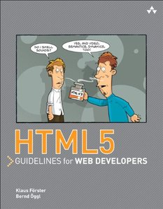 HTML5 Guidelines for Web Developers (Paperback)-cover