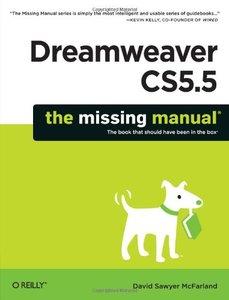Dreamweaver CS5.5: The Missing Manual (Paperback)-cover