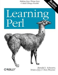 Learning Perl, 6/e (Paperback)-cover