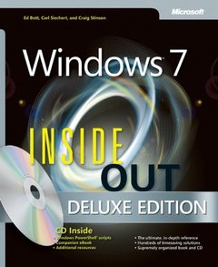 Windows 7 Inside Out , Deluxe Edition (Hardcover)-cover