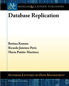 Database Replication (Synthesis Lectures on Data Management)-cover