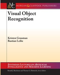 Visual Object Recognition (Synthesis Lectures on Artificial Intelligence and Machine Learning)-cover