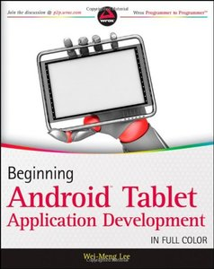 Beginning Android Tablet Application Development (Paperback)-cover