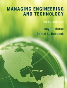 Managing Engineering and Technology, 5/e (Hardcover)-cover