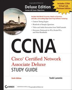 CCNA Cisco Certified Network Associate Deluxe Study Guide, 6/e(Hardcover)-cover
