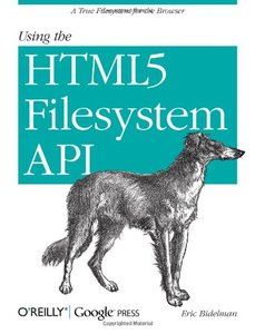 Using the HTML5 Filesystem API (Paperback)-cover