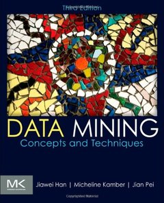 Data Mining : Concepts and Techniques, 3/e (Hardcover)-cover