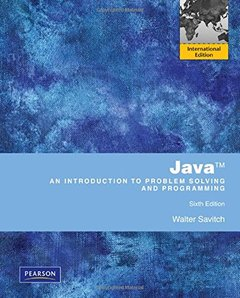 Java: An Introduction to Problem Solving and Programming, 6/e (IE-Paperbak)-cover