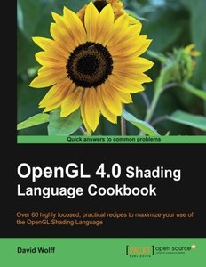 OpenGL 4.0 Shading Language Cookbook (Paperback)-cover