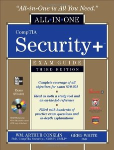 CompTIA Security+ All-in-One Exam Guide (Exam SY0-301), 3/e (Hardcover)-cover