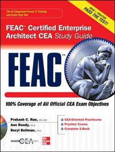 FEAC Certified Enterprise Architect CEA Study Guide (Hardcover)-cover