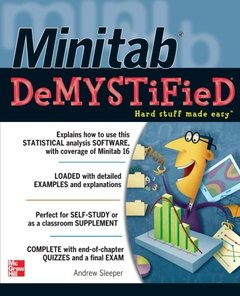 Minitab Demystified (Paperback)-cover