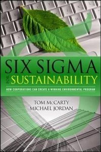 Six Sigma for Sustainability (Hardcover)-cover