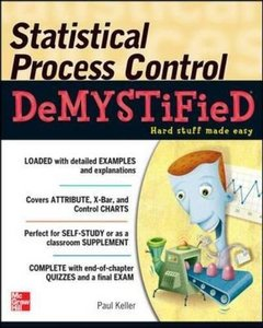 Statistical Process Control Demystified (Paperback)-cover