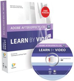 Adobe After Effects CS5: Learn by Video (Hardcover)-cover