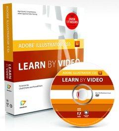 Adobe Illustrator CS5: Learn by Video (Paperback)-cover