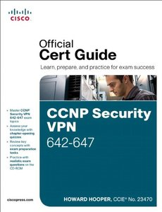 CCNP Security VPN 642-647 Official Cert Guide (Hardcover)-cover