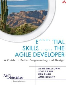 Essential Skills for the Agile Developer: A Guide to Better Programming and Design (Paperback)-cover