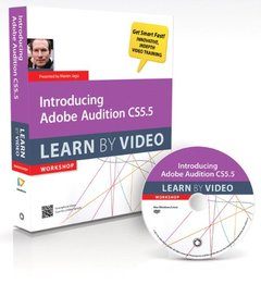 Introducing Adobe Audition CS5.5: Learn by Video (DVD-ROM)-cover