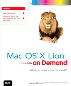 Mac OS X Lion on Demand, 2/e (Paperback)-cover