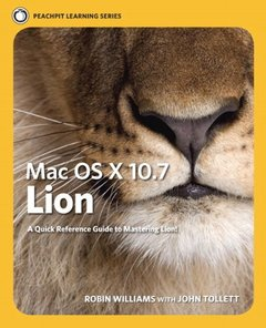 Mac OS X Lion: Peachpit Learning Series (Paperback)-cover