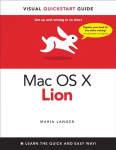 Mac OS X Lion: Visual Quickstart Guide (Paperback)-cover