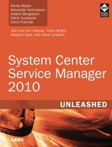 System Center Service Manager 2010 Unleashed (Paperback)-cover