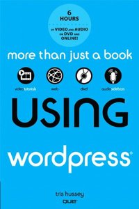 Using WordPress, with DVD (Paperback)-cover