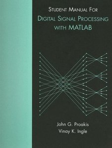 Student Manual for Digital Signal Processing using MATLAB (Paperback)-cover