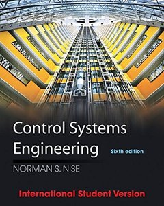 Control Systems Engineering, 6/e (Paperback)-cover