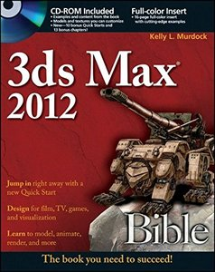 3ds Max 2012 Bible (Paperback)-cover