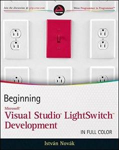 Beginning Microsoft Visual Studio LightSwitch Development (Paperback)-cover