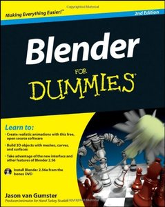 Blender For Dummies, 2/e (Paperback)-cover