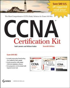 CCNA Cisco Certified Network Associate Certification Kit (640-802) Set, 7/e (Paperback)-cover