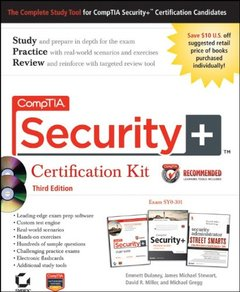 CompTIA Security+ Certification Kit, Includes CD Set: Exam SY0-301, 3/e (Paperback)-cover